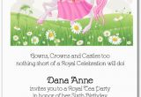 Cheap Princess Birthday Invitations Pink Mane Horse Princess Invitations