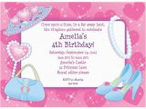 Cheap Princess Birthday Invitations Pink Princess Party Personalized Invitation Cheap