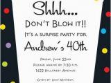 Cheap Surprise Birthday Invitations Surprise 40th Birthday Invitations Lijicinu 73ef52f9eba6