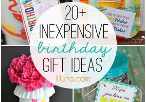 Cheap Thoughtful Birthday Gifts For Her Inexpensive Gift Ideas