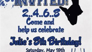 Cheerleading Birthday Invitations Cheerleading Birthday Party Invitation