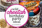 Cheetah Birthday Decorations Super Simple Cheetah Birthday Party Ideas Overstuffed