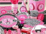 Cheetah Birthday Party Decorations Cheetah themed Party