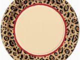 Cheetah Print Birthday Decorations Cheetah Print Party Supplies Ebay