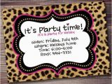 Cheetah Print Birthday Invitation Templates Bachelorette Party Invitations Your Party Starts Here