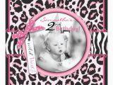 Cheetah Print Birthday Invitation Templates Cheetah Print Cupcake Photo Template Birthday Invitation