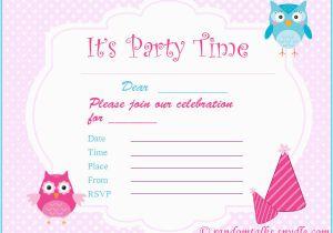 Child Birthday Invitations Free Printable Free Printable Birthday Invitations Random Talks