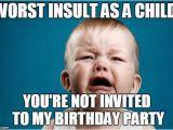 Child Birthday Meme Crying Baby Imgflip