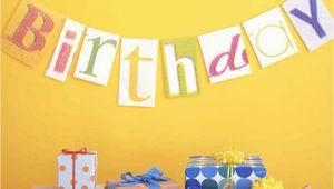 Children S Happy Birthday Banners Kids 39 Party Decorations Martha Stewart
