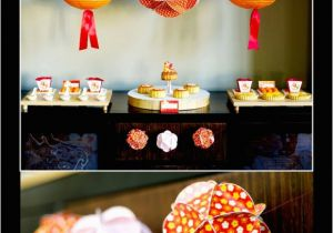 Chinese Birthday Party Decorations A Chinese Lunar New Year Party Party Ideas Party
