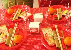 Chinese Birthday Party Decorations Chinese New Year Chinese New Year Party Ideas Photo 3 Of