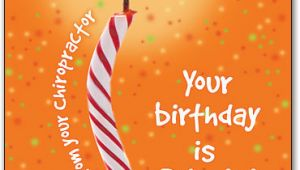 Chiropractic Birthday Cards for Patients Birthday Postcards Smartpractice Chiropractic