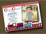 Choo Choo Train Birthday Invitations Items Similar to Choo Choo Train Birthday Invitation with