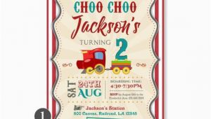Choo Choo Train Birthday Party Invitations Choo Choo Invitation Train Birthday Invitation Train Party