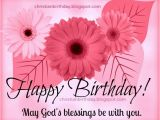 Christian Birthday Cards for Women Christian Card Happy Birthday Blessings to You