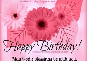 Christian Birthday Cards For Women Card Happy Blessings To You