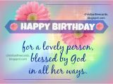 Christian Birthday Cards for Women Happy Birthday Religious Quotes Quotesgram