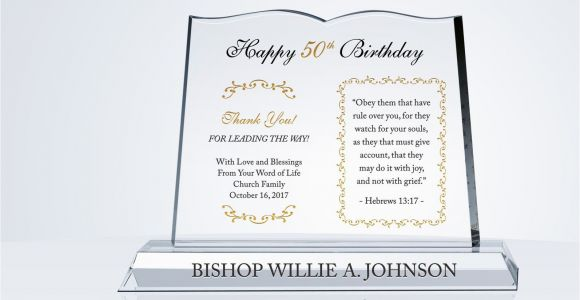 Christian Birthday Gifts for Her Religious Pastor Birthday Gift Crystal Central