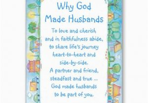 Christian Birthday Gifts for Husband Gt Discount Happy Birthday Husband Card why God Made