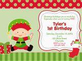 Christmas 1st Birthday Invitations First Birthday Christmas Party Invitation by thebutterflypress