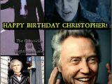 Christopher Walken Birthday Card Christopher Walken 39 S Birthday Celebration Happybday to