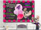 Chuck E Cheese Birthday Invitation Template Chuck E Cheese Invitationany Age Birthday Invitation
