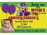 Chuck E Cheese Birthday Invitation Template Chuck E Cheese Party Invitations A Birthday Cake