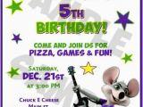 Chuck E Cheese Birthday Invitation Template Free Printable Chuck E Cheese Birthday Invitations