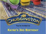 Chuggington Birthday Invitations Childrens Birthday Invitations Chuggington Birthday
