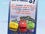 Chuggington Birthday Invitations Chuggington Birthday Invitations Digital File You Print