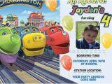 Chuggington Birthday Invitations Chuggington Train Printable Birthday Invitation Diy