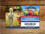 Chuggington Birthday Invitations Items Similar to Child 39 S Chuggington Birthday Invitations