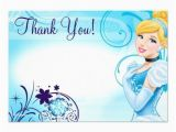 Cinderella Birthday Cards Karri Best Price Cinderella 3 Thank You Cards