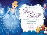 Cinderella Birthday Invitation Template 11 Disney Invitation Templates Free Sample Example