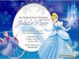 Cinderella Birthday Invitation Template Cinderella Birthday Invitations Ideas Bagvania Free