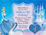 Cinderella Birthday Invitation Template Create Easy Cinderella Birthday Invitations Printable