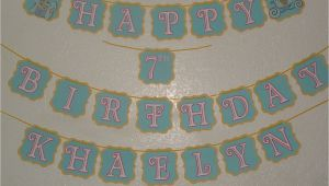 Cinderella Happy Birthday Banner Cinderella Inspired Happy Birthday Banner with by Mandymason