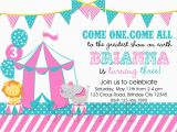 Circus themed 1st Birthday Invitations Circus Birthday Invitation 1st Birthday by thetrendybutterfly