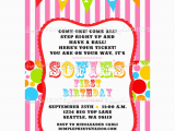 Circus themed 1st Birthday Invitations Circus Carnival Birthday Printable Invite Dimple Prints Shop