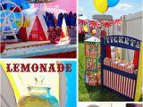 Circus themed Birthday Decorations Big top Circus Birthday Party Ideas