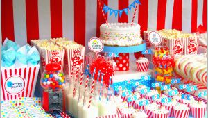 Circus themed Birthday Decorations Circus Party Ideas