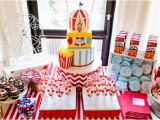 Circus themed Birthday Decorations Circus themed First Birthday Party