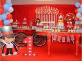 Circus themed Birthday Decorations Kara 39 S Party Ideas Bright Circus Birthday Party Kara 39 S
