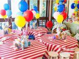 Circus themed Birthday Decorations Kara 39 S Party Ideas Circus Carnival Birthday Party Via