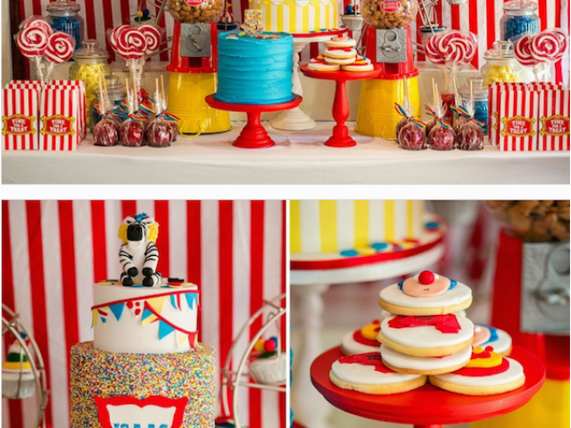 Download By SizeHandphone Tablet Desktop Original Size Back To Circus Themed Birthday Decorations