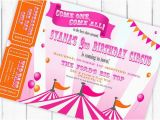 Circus themed Birthday Invites A Carnival Circus themed Birthday Party Driven by Decor