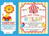 Circus themed Birthday Invites Circus Party Invitations Circus Party Invitations and the