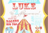 Circus themed Birthday Invites Free Circus Birthday Invitation Party Like A Cherry