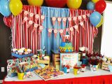 Circus themed Birthday Party Decorations 15 Best Carnival Birthday Party Ideas Birthday Inspire