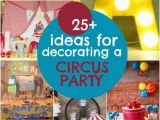 Circus themed Birthday Party Decorations 25 Circus Birthday Party Decorations Spaceships and